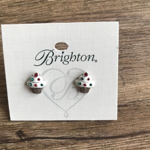 Brighton Jewelry - Brighton Holiday Cupcake Mini Post Earring